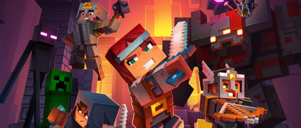 Minecraft Dungeon saldrá en abril de 2020