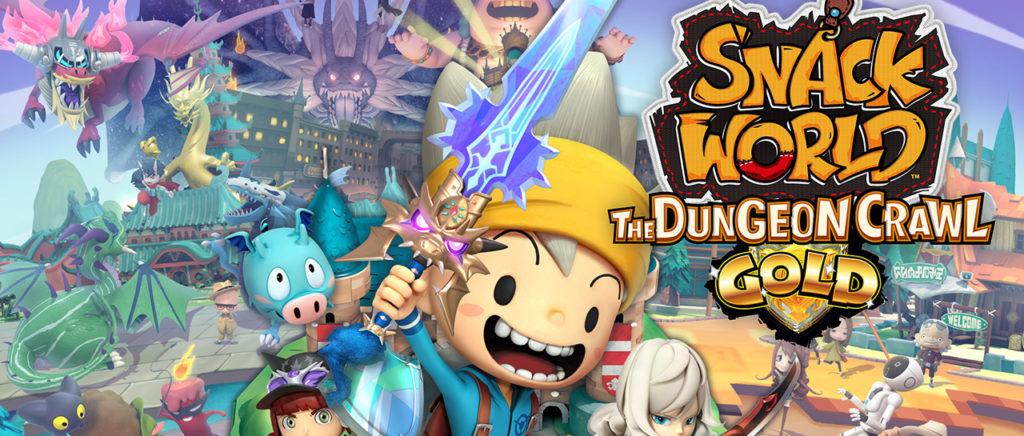 SNACK WORLD: The Dungeon Crawl Gold llegará al Switch 2020
