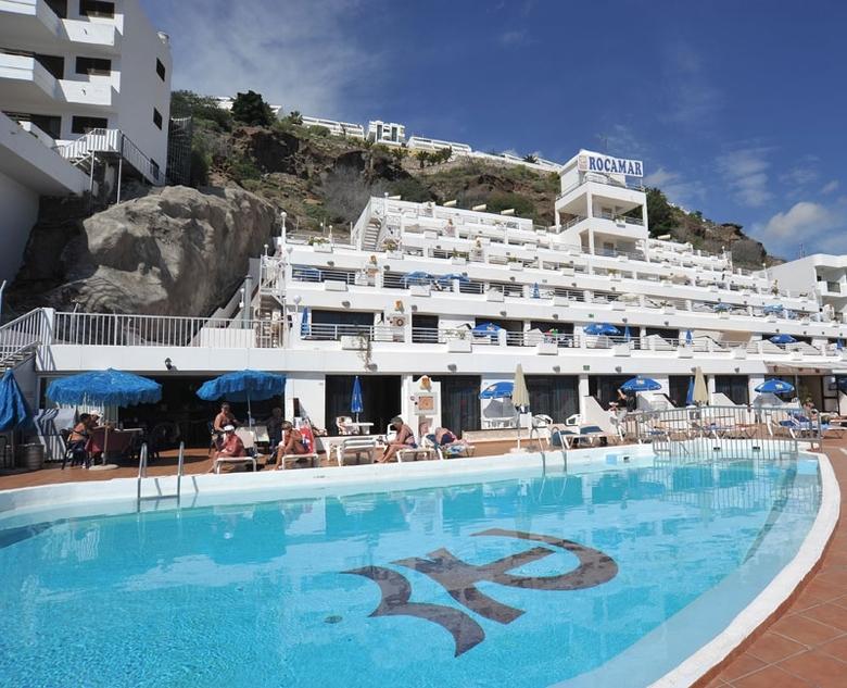 The island is under the influence of spain. Rocamar Apartamentos, Puerto Rico (Gran Canaria ...