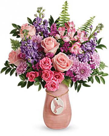 Teleflora's Winged Beauty Bouquet Fresh arrangement in ...