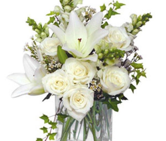 Wonderful White Bouquet Of Flowers In Lebanon Nh Lebanon Garden Of Eden Floral Shop
