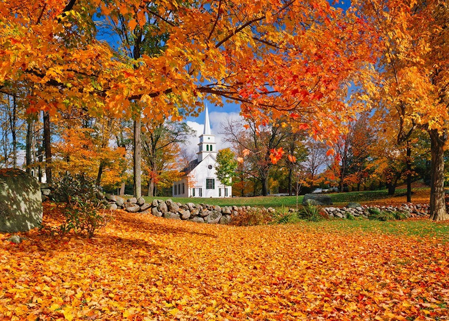 Touring New England In The Fall