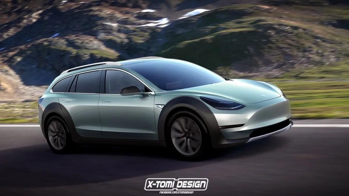 Tesla Model 3 Sportwagon Y Crosswagon As Podran Ser