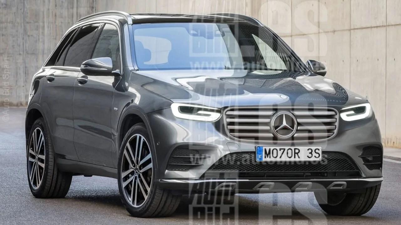 Mercedes Benz GLB 2019 Ya Se Ha Mostrado En