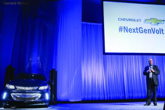 Chevrolet показал новый электромобиль Volt