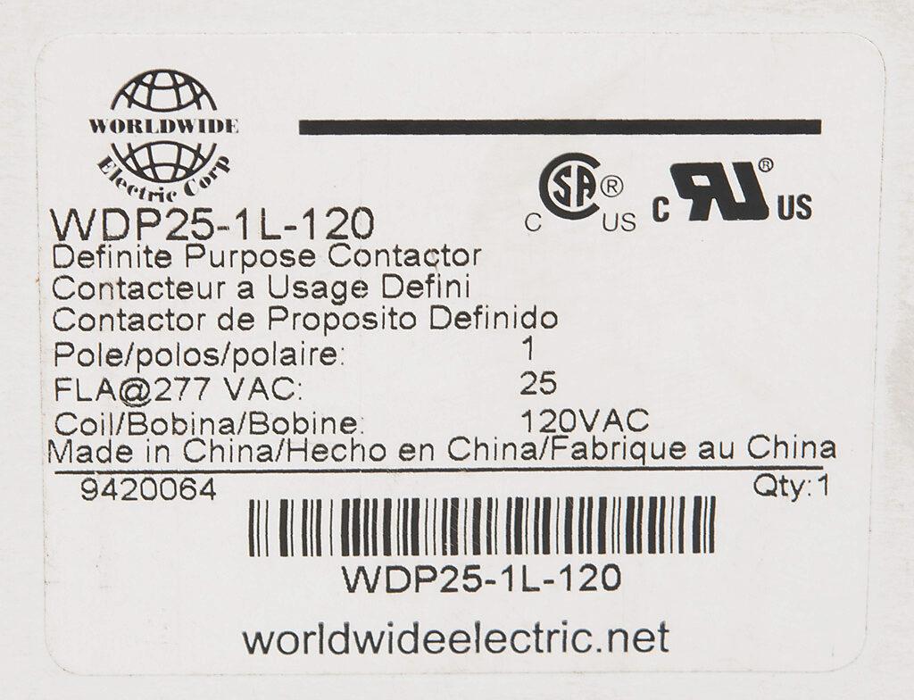 Wdp25 1l 120