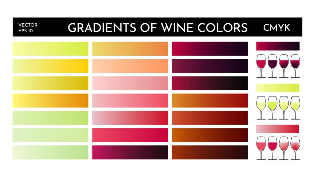 couleurs du vin d ou viennent elles