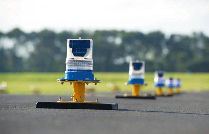 solar runway lighting case study