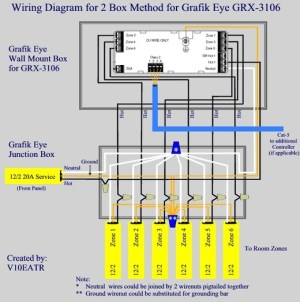 Wiring for Lutron Graphic Eye  AVS Forum | Home Theater Discussions And Reviews