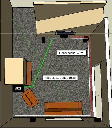 Flat Coaxial Cable Under Carpet Lets See Carpet New Design