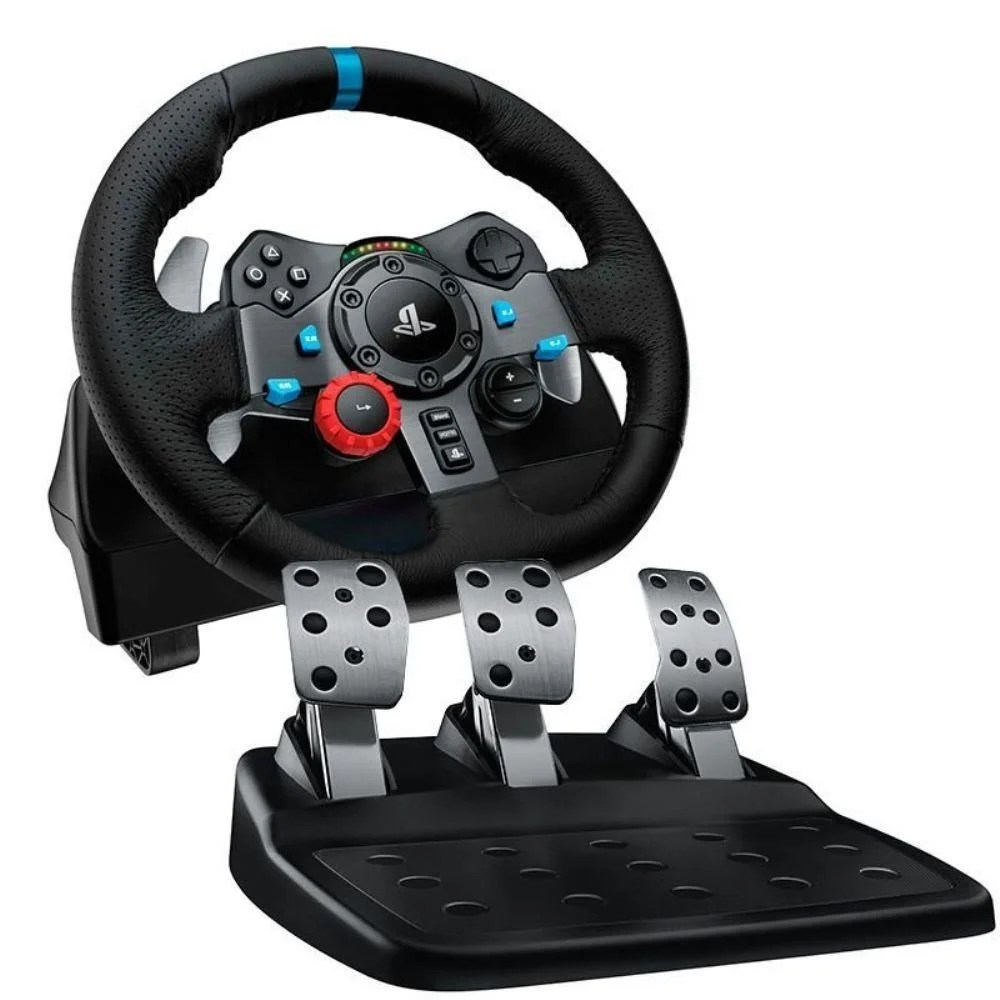 PS4 Volante Logitech G29 Driving Force Race Wheel PS4 PS3 PC Game Store Consoles