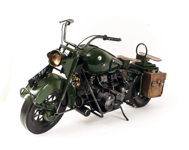 Miniatura Moto Militar