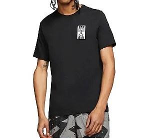 camiseta jordan x psg logo masculina