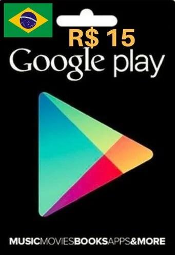 Carto Google Play Brasil Store R 15 Brasileiro 15
