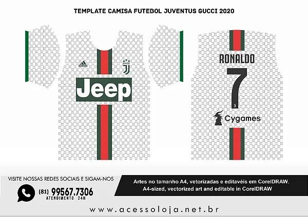 Jersey designs on behance camisas de futebol camiseta esportiva esportes from i.pinimg.com. Template Vetor Camisa Futebol Juventus Gucci 2020 Vetorizada Corel Draw Acesso Loja Tudo Em Um So Lugar