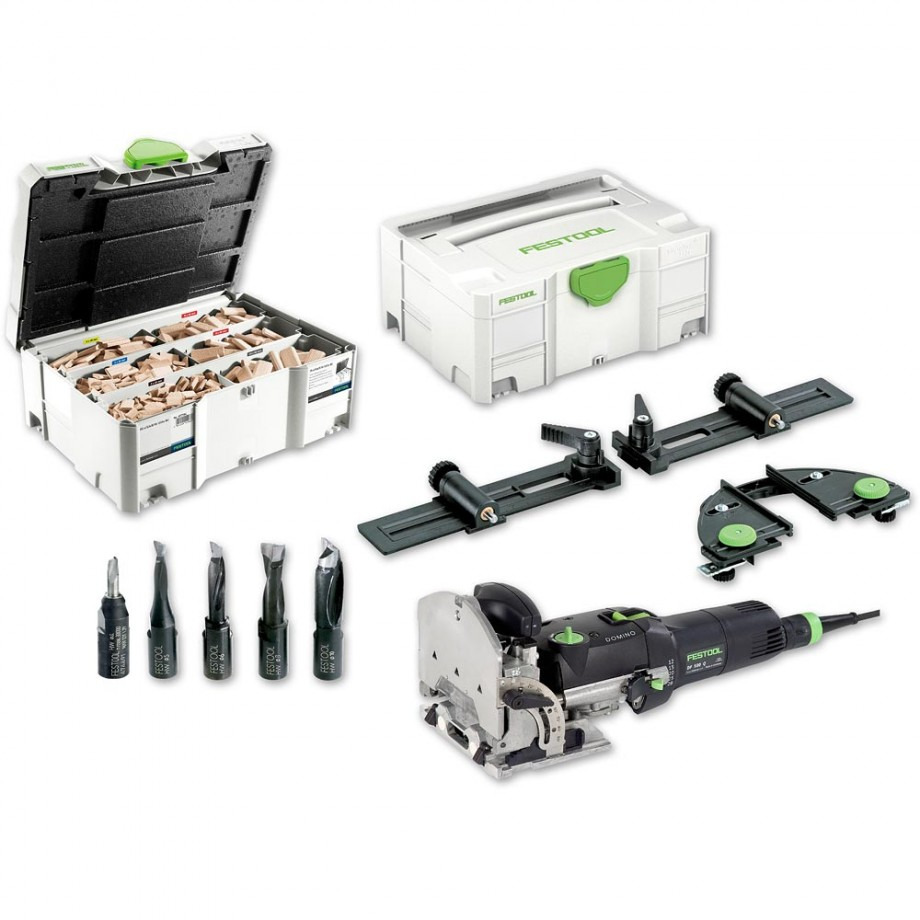 Festool DOMINO DF 500 Q Set Jointer Amp Assortment 1060