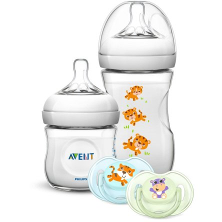 Philips Avent Coffret nouveau-né Natural SCD289/01 0 M+ Safari