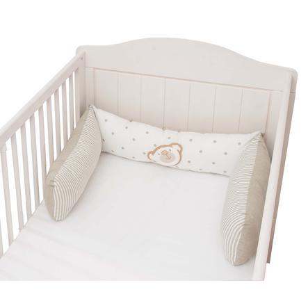 tour de lit enfant big willi beige 3 pieces