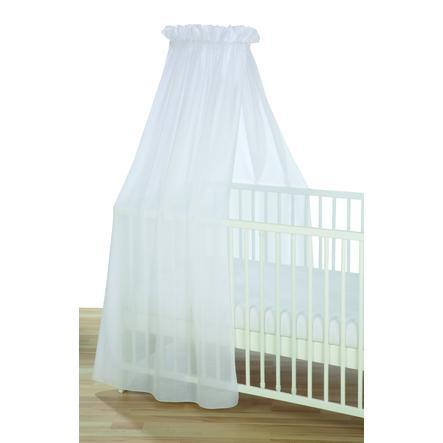 ciel de lit enfant voile blanc 160x250 cm