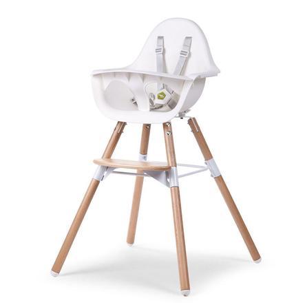 chaise haute enfant evolu 2 2 en 1 bois na