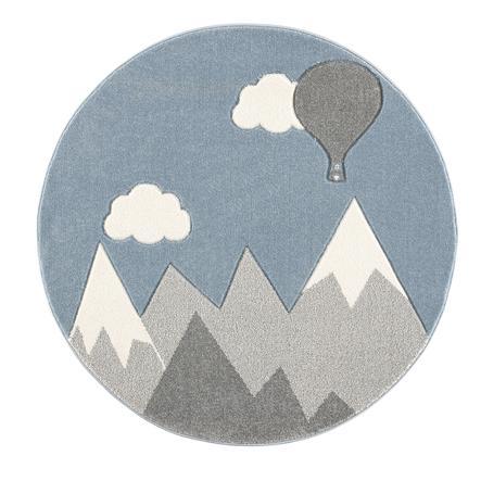 https www roseoubleu fr scandicliving tapis enfant montagne montgolfiere gris argente blanc o 133 cm a275374 html