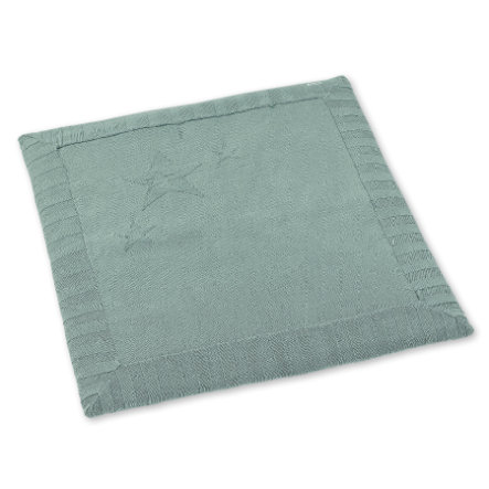 tapis d eveil tricote vert clair 100x100 cm