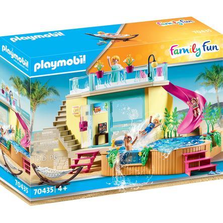 figurine bungalow avec piscine family fun