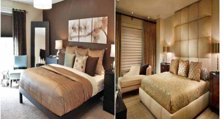 22 Stunning Gold And Brown Bedroom Barb Homes