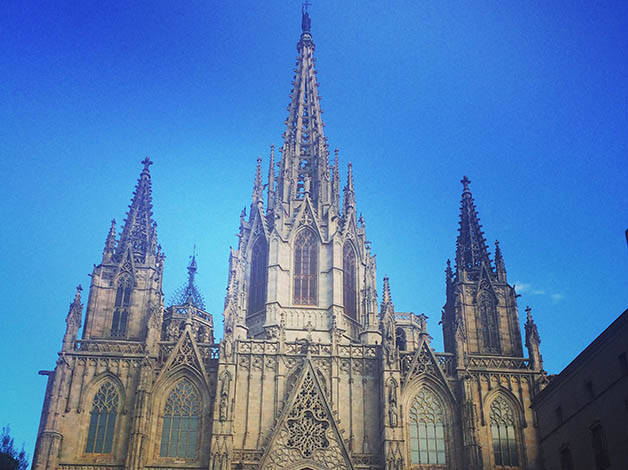 Barcelona Cathedral A Beautiful Example Of Gothic Architecture