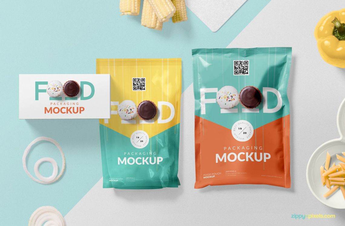 Download ? Free Food Packaging Mockup PSD