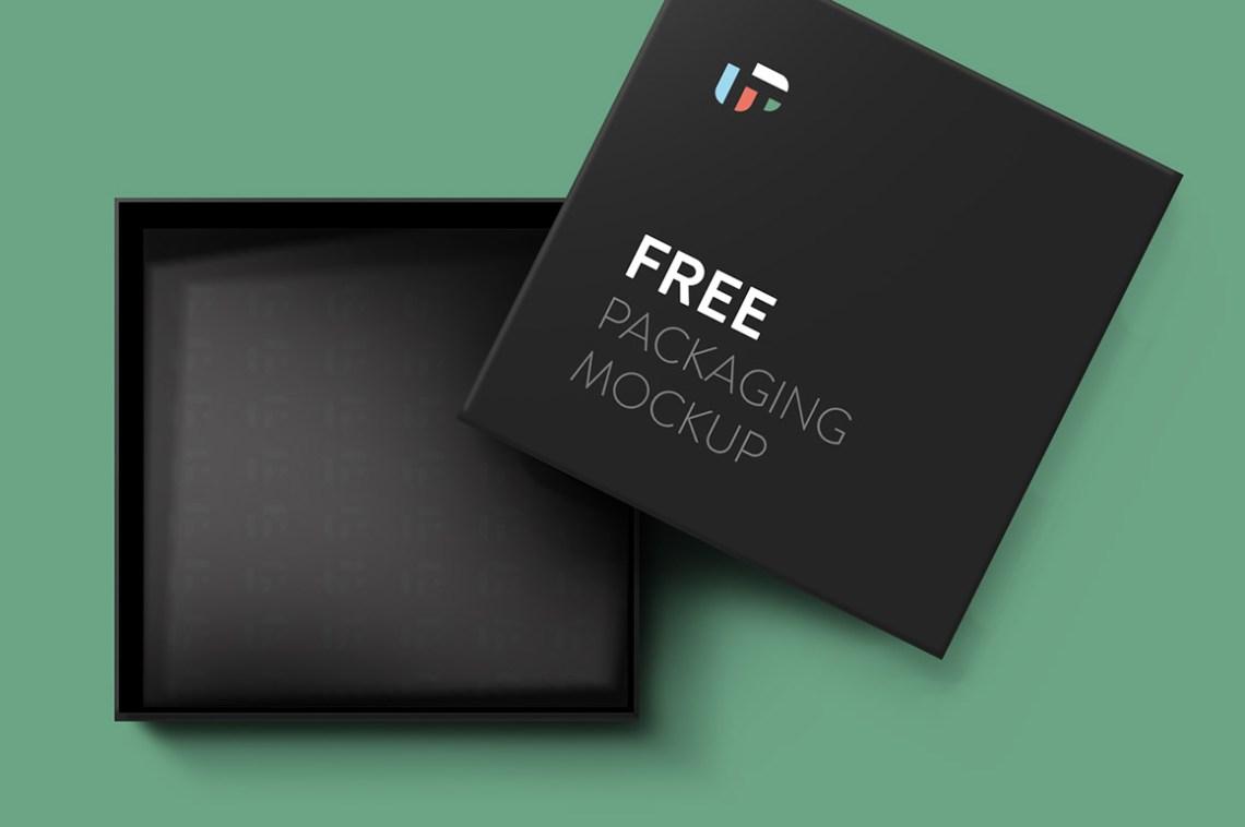 Download Free Square Box Mockup