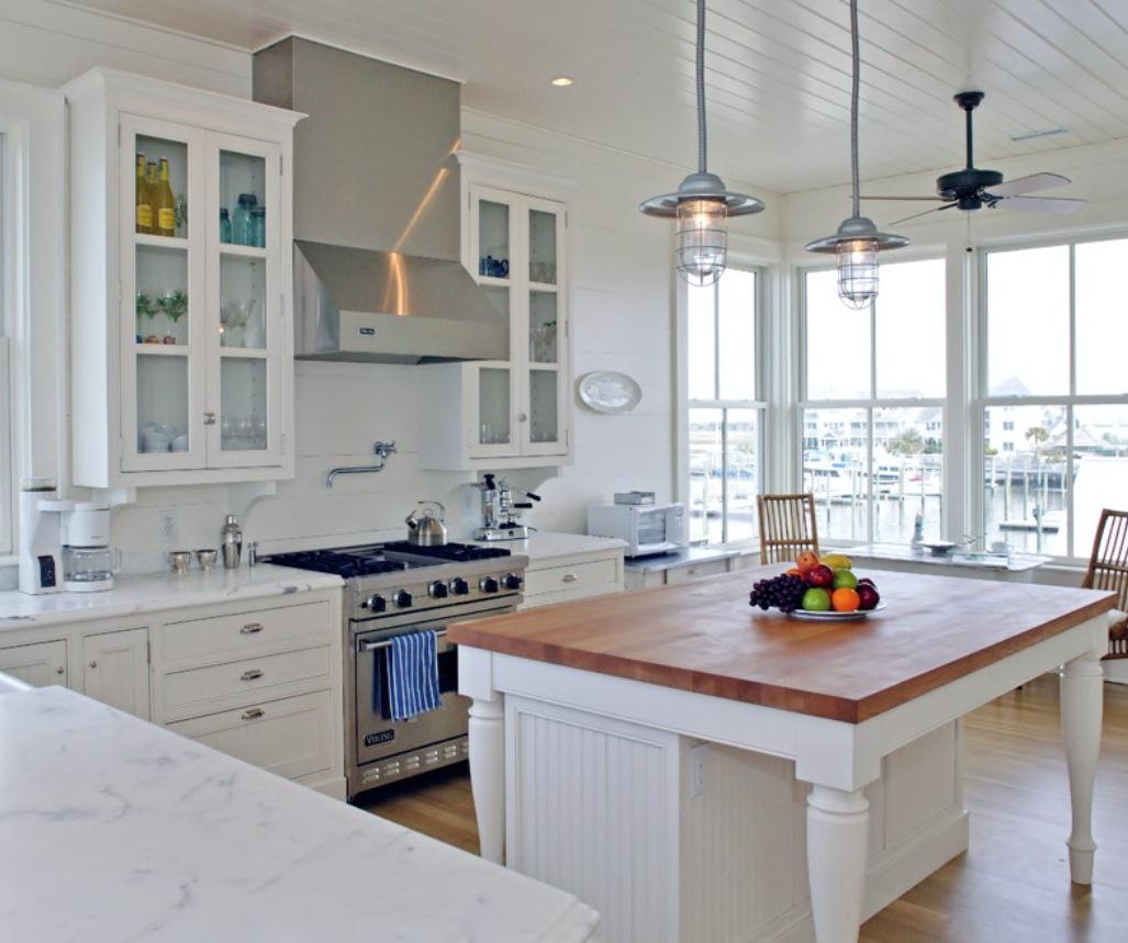 industrial style to coastal beach house