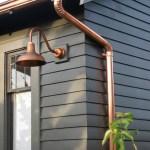Copper Gooseneck Lighting For 1920s Craftsman Style Home Inspiration Barn Light Electric