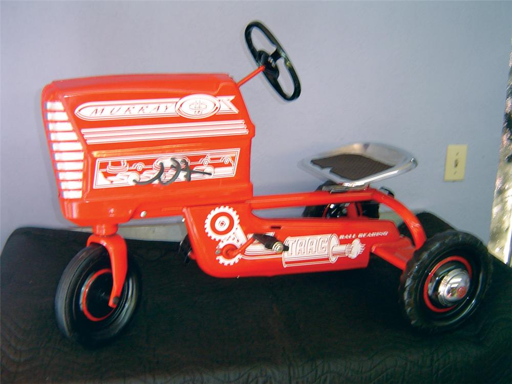Choice 1950s 60s Murray Pedal Tractor Restored With Chrome