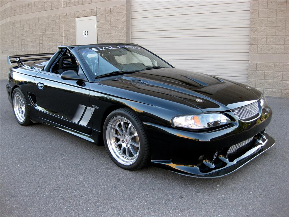 1996 FORD SALEEN MUSTANG CONVERTIBLE