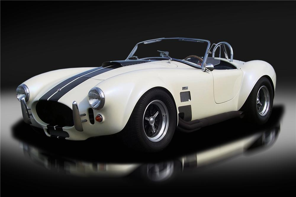 1965 SHELBY COBRA RE CREATION ROADSTER 132825