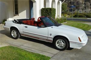 1984 FORD MUSTANG GT 350 CONVERTIBLE  177513