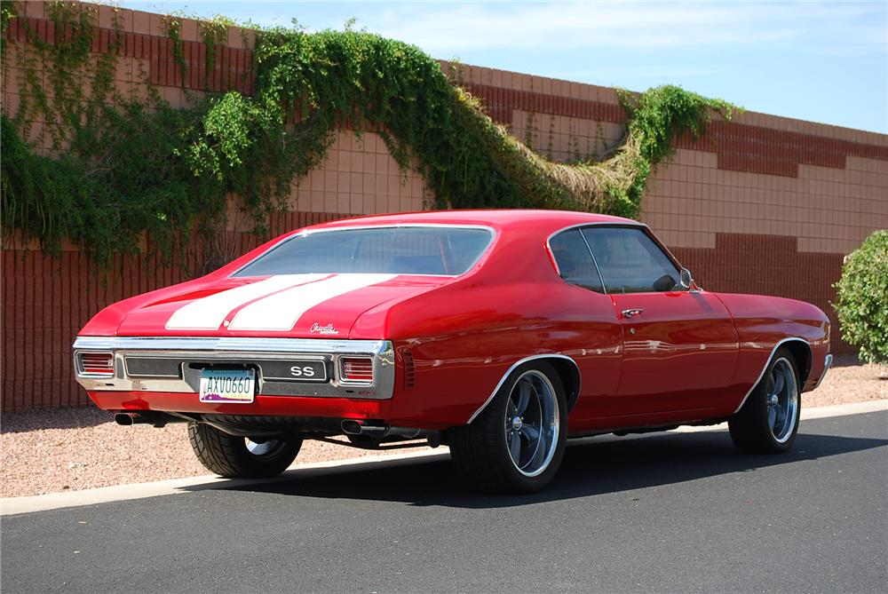 1970 Chevelle Ss 454 Red