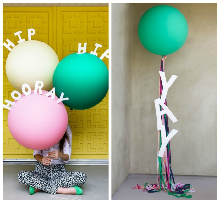 Added Messages Balloon Decoration Ideas