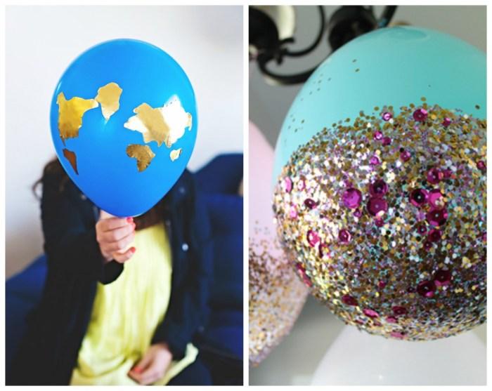Shiny Balloon Decoration Ideas
