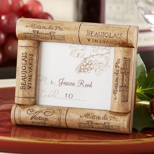 Birthday Wine Cork Place Card