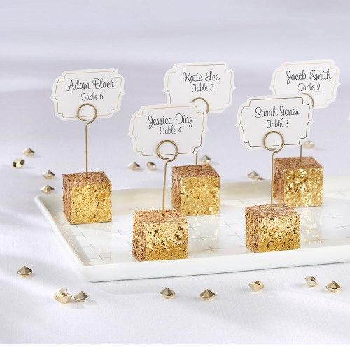 Glitter Placecard Holders