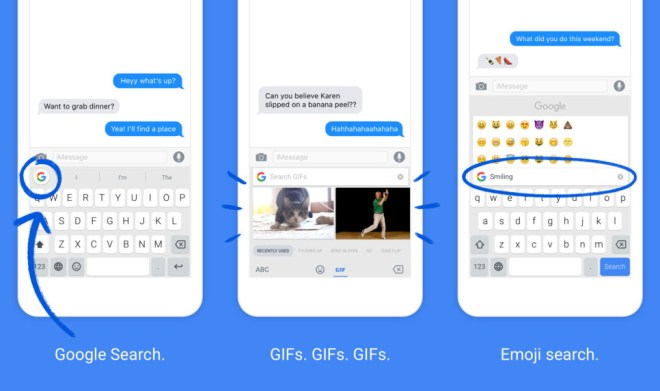 Google Gboard for android is way better than it's default keyboard