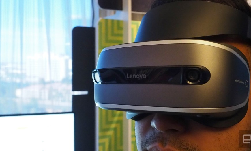 Lenovo's Affordable Virtual Reality Headset With Powerful Features