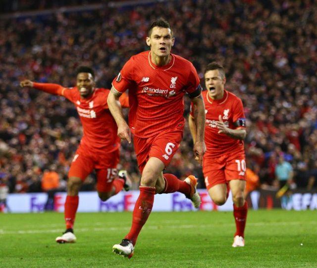 Liverpool V Borussia Dortmund Uefa Europa League Quarter Final Second Leg