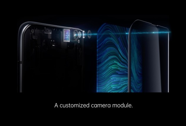 aparat selfie ukryty pod ekranem