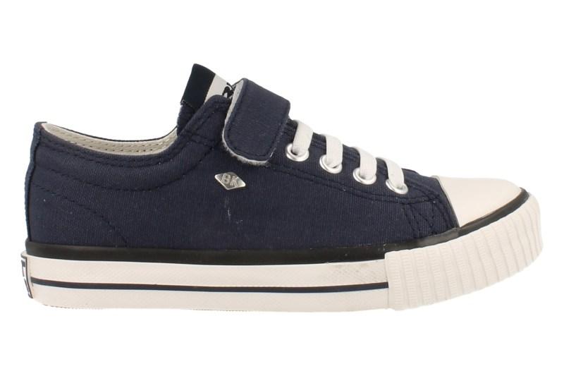 British Knights Sneaker Laag Master Lo Jongens Blauw Canvas - Blauw