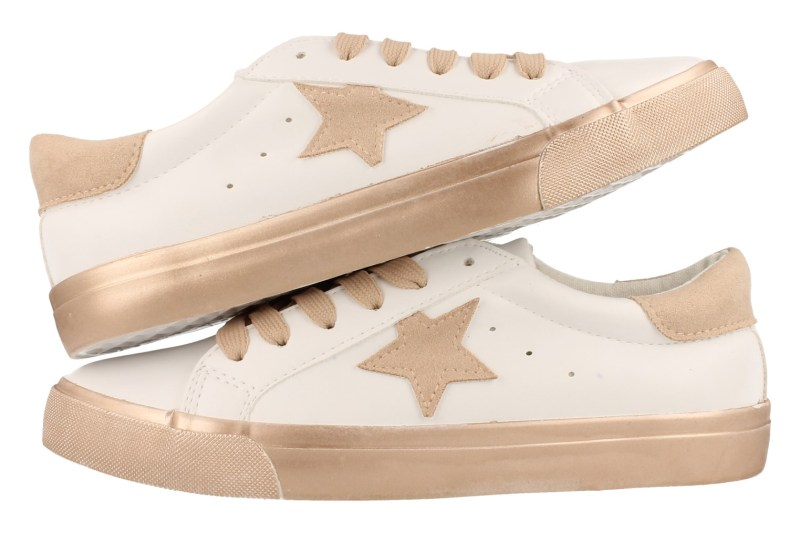 Mode-Mania Veterschoen Dames - Rosegold