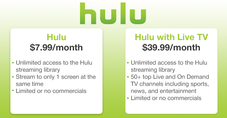 Hulu Vs Netflix Streaming Services Comparison Best Advisor