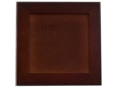 rosewood trivet frame holds 6 tiles